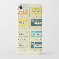 clockwork orange iPhone & iPod Cases featuring All Tomorrow's Parties by Cassia Beck