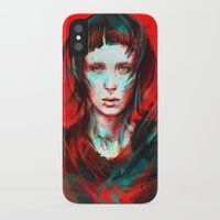 boy iPhone & iPod Cases featuring Wasp by Alice X. Zhang