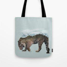 Bowing Tiger Tote Bag