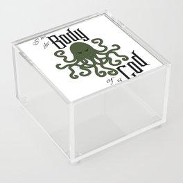 I have the Body of a God Acrylic Box