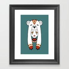 Polar Tribe Framed Art Print