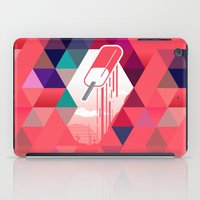 popsicle iPad Cases featuring Watermelon Popsicle by Spires