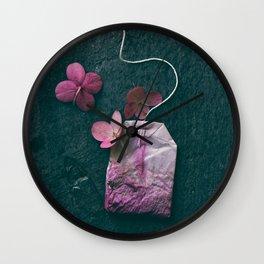 The Art of Tea II Wall Clock