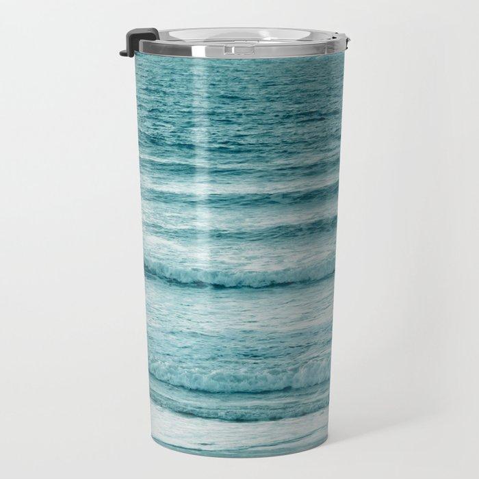 Ocean Ripples Travel Mug