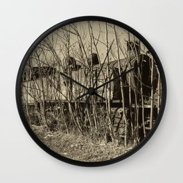Pochino steam dereliction Wall Clock