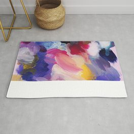 Robbie Abstract Painting Rug