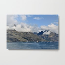 View from the Queenstown Harbour Metal Print