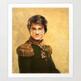 Harry General Portrait Painting   Fan Art Art Print
