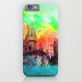 Watercolor Hogwarts iPhone Case