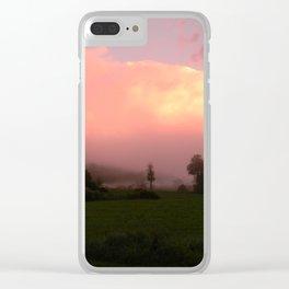 Misty Euphoria Clear iPhone Case