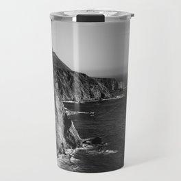 Monochrome Big Sur Travel Mug
