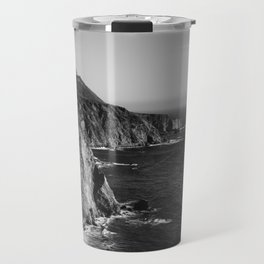 Monochrome Big Sur Travel Mug