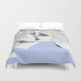 lonely boy, lonely girl Duvet Cover