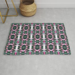 Candy Coated Roses small Rug