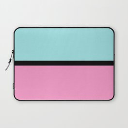 Pastels blue and pink Laptop Sleeve