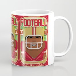 American Football Red and Gold - Enzone Puntfumbler - Hayes version Coffee Mug