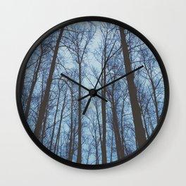 Dark Woods Wall Clock