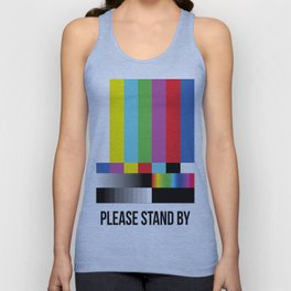 Color Bars Unisex Tank Top