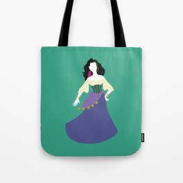 Esmeralda from The Hunchback of Notre-Dame Tote Bag