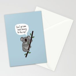 Koala Question Stationery Cards
