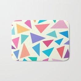 Colorful geometric pattern II Bath Mat