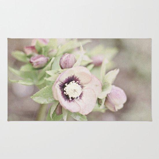 Pastel Flowers Rug