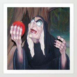 Evil Queen Hag Art Print