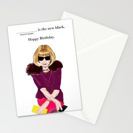 Anna Wintour Stationery Cards