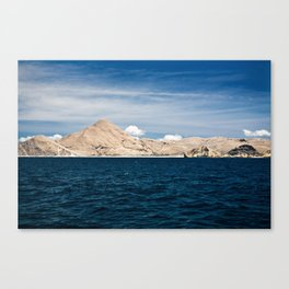 Flores by Boat Canvas Print