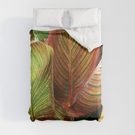 Sultry, Sexy Exotic Tropicana Leaves Comforters