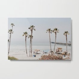 palm trees x / california Metal Print