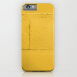 Hella Yellow Wall iPhone Case