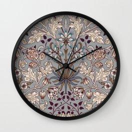 William Morris Hyacinth Wall Clock