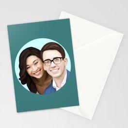 Jenna Ushkowitz and Kevin Mchale Stationery Cards