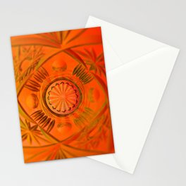 Looking Glass - Orange Stationery Cards
