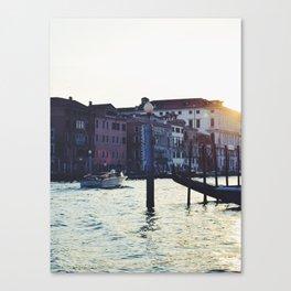 A Venetian Sunset Canvas Print