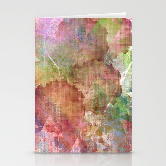 Abstract Me Stationery Cards