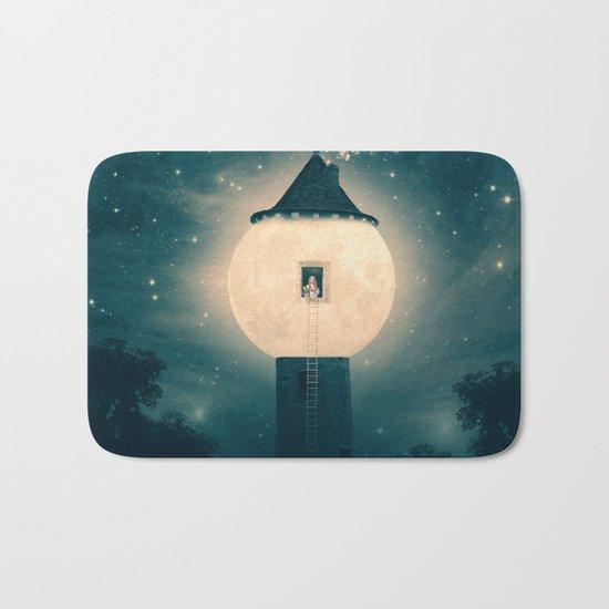 The Moon Tower Bath Mat