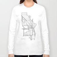 milwaukee Long Sleeve T-shirts featuring Milwaukee by linnydrez