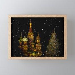 Moscow Night Framed Mini Art Print