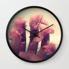 sugar cloud Wall Clock