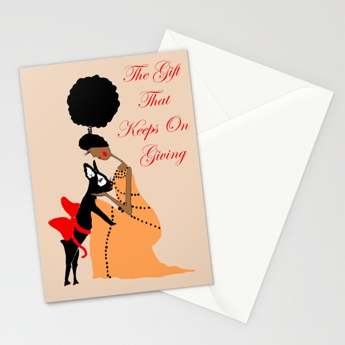 The Gift That Keeps on Giving Stationery Cards