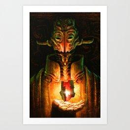Scavenger Heroes series - 9 Art Print