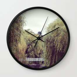 Park Bridge. Wall Clock