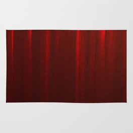 Behind the Red Curtain Rug