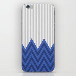 DeSign TRB blue iPhone Skin