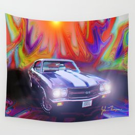 70 454 Chevelle SS Wall Tapestry