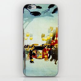 Japanese Covered Litter and Lanterns iPhone Skin