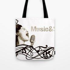 Music&Soul Tote Bag