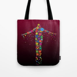 Oblation Flowers Tote Bag